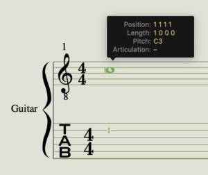 Logic Pro shows middle C as C3 by default.